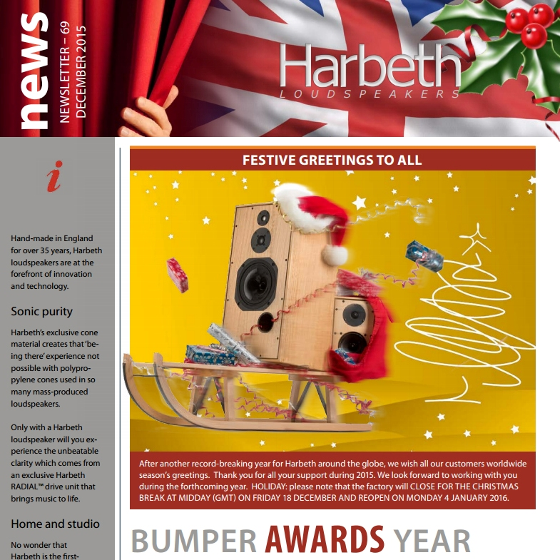 Harbeth newsletter: December