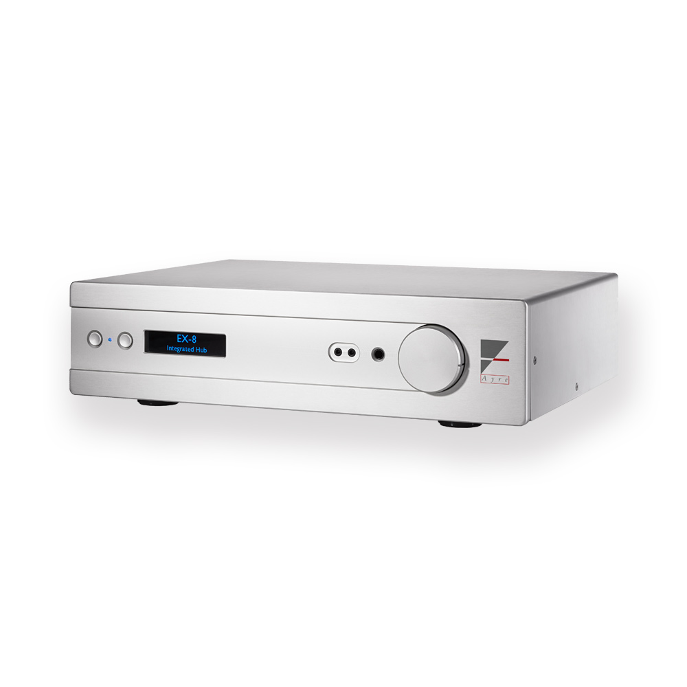 EX-8, Ayre's single box streaming integrated amplifier