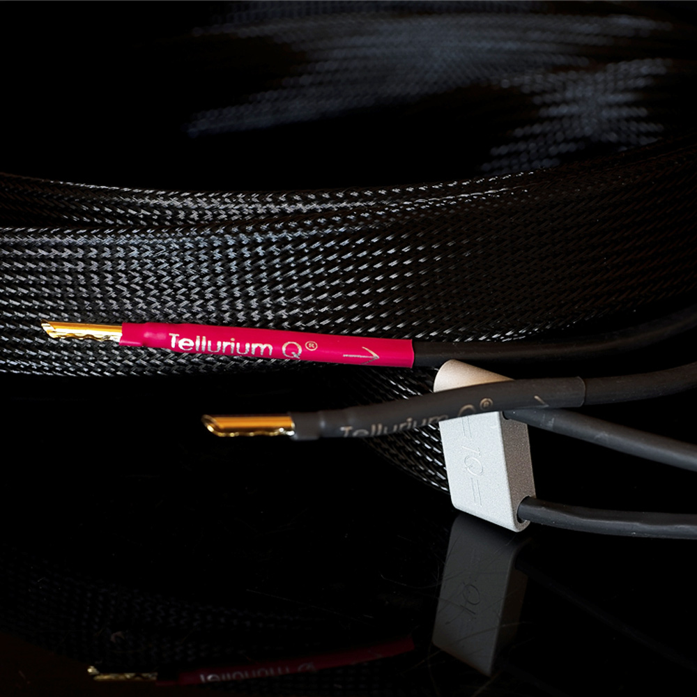 Review Tellurium Q ultra Black Speakers cable HIFI Knife