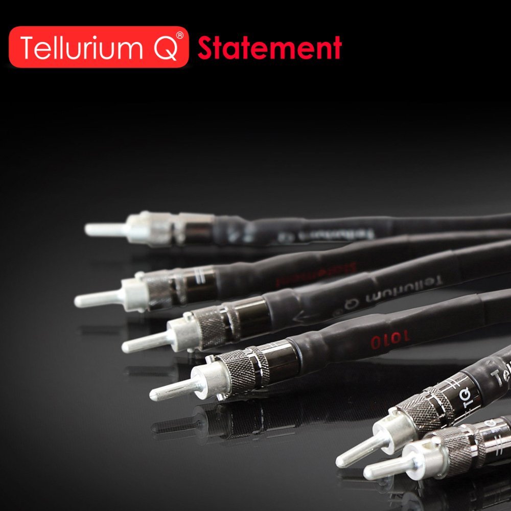 New Tellurium Q statement cable line