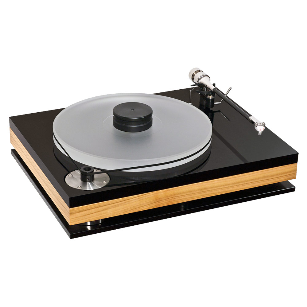 Bauer Audio dps 3 turntable in cherry (without tonearm)