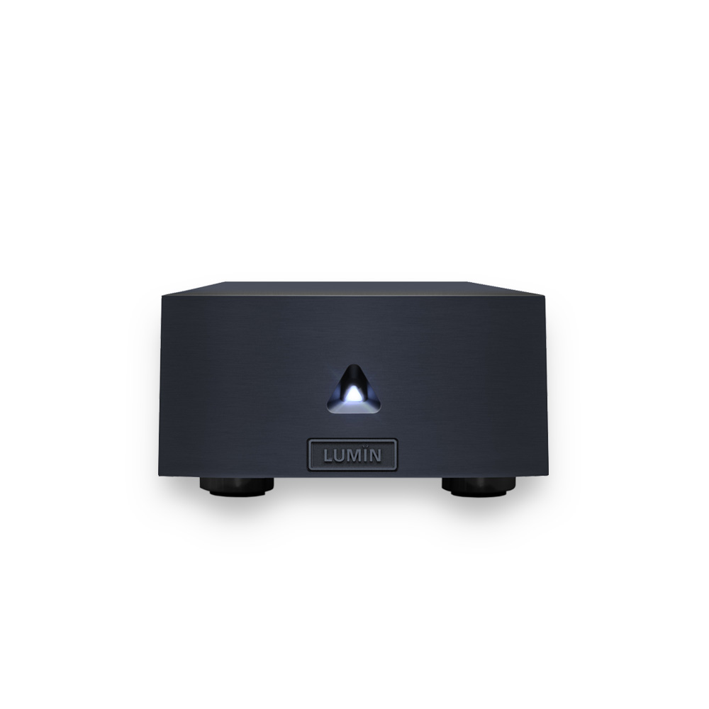 Lumin X1 Network Player Black