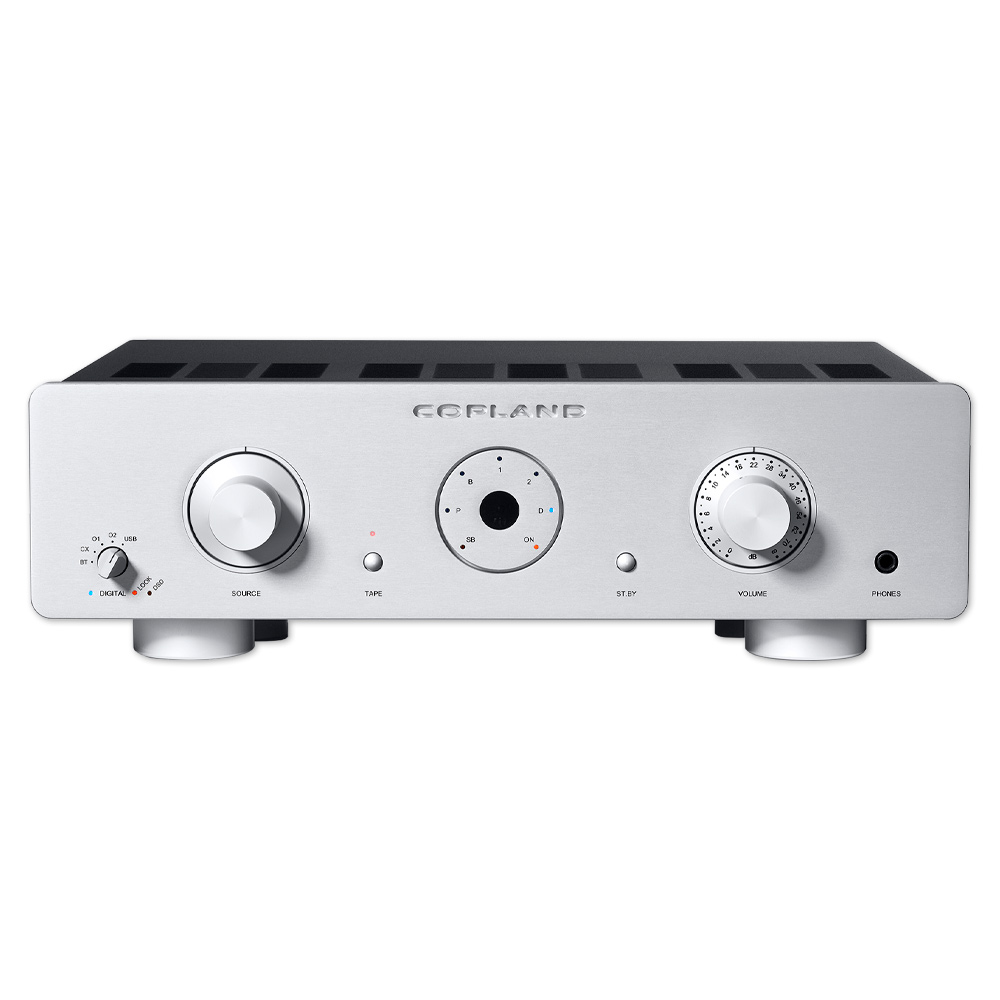 Copland CSA100 integrated amplifier 2x100W, silver