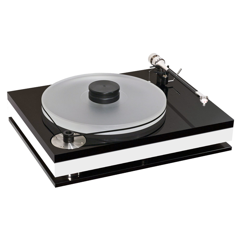 Bauer Audio dps 3  turntable in white (without tonearm)