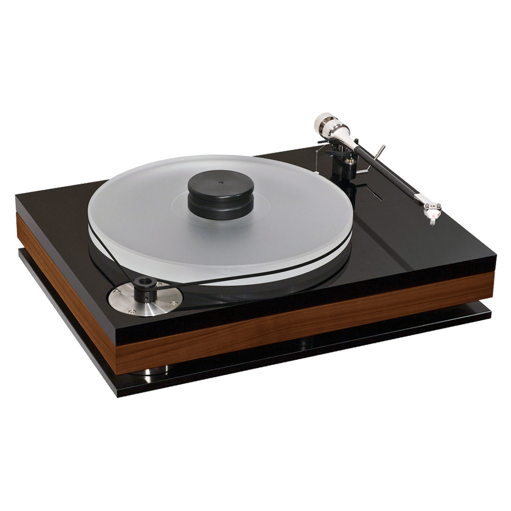 Bauer Audio dps 3  turntable in walnut (without tonearm)